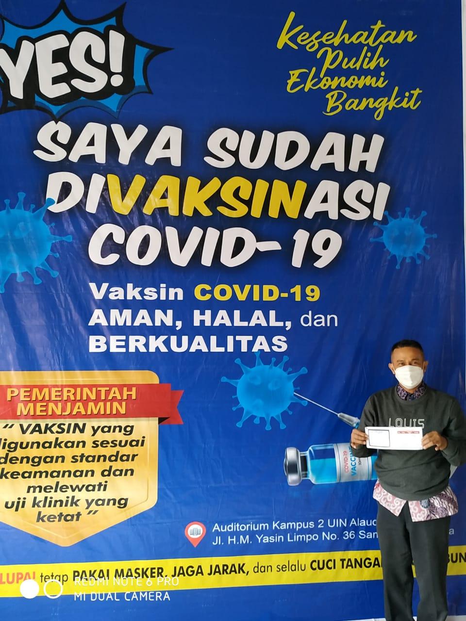 VAKSINASI COVID-19 LINGKUP UIN ALAUDDIN MAKASSAR